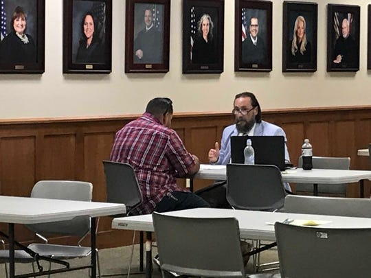 The Nueces County District Attorney's Office, Texas RioGrande Legal Aid and the criminal defense section of the Corpus Christi Bar Association held their first joint expunction clinic on June 21, 2019.
