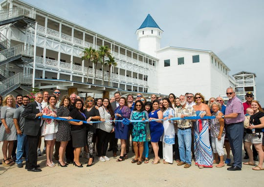 Waves Resort Corpus Christi featuring Schlitterbahn Waterpark hosted an official ribbon cutting ceremony on Thursday, June 20, 2019.