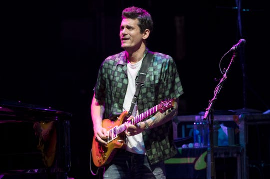 John Mayer performs with Dead & Company at the BB&T Pavilion in Camden, NJ, on Thursday, June 20, 2019.  (Chris LaChall/Staff Photographer)