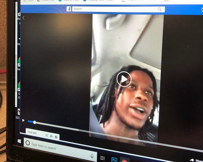 A man who broadcast on Facebook Live during a police chase was a suspect in a Willingboro double homicide, according to media reports.