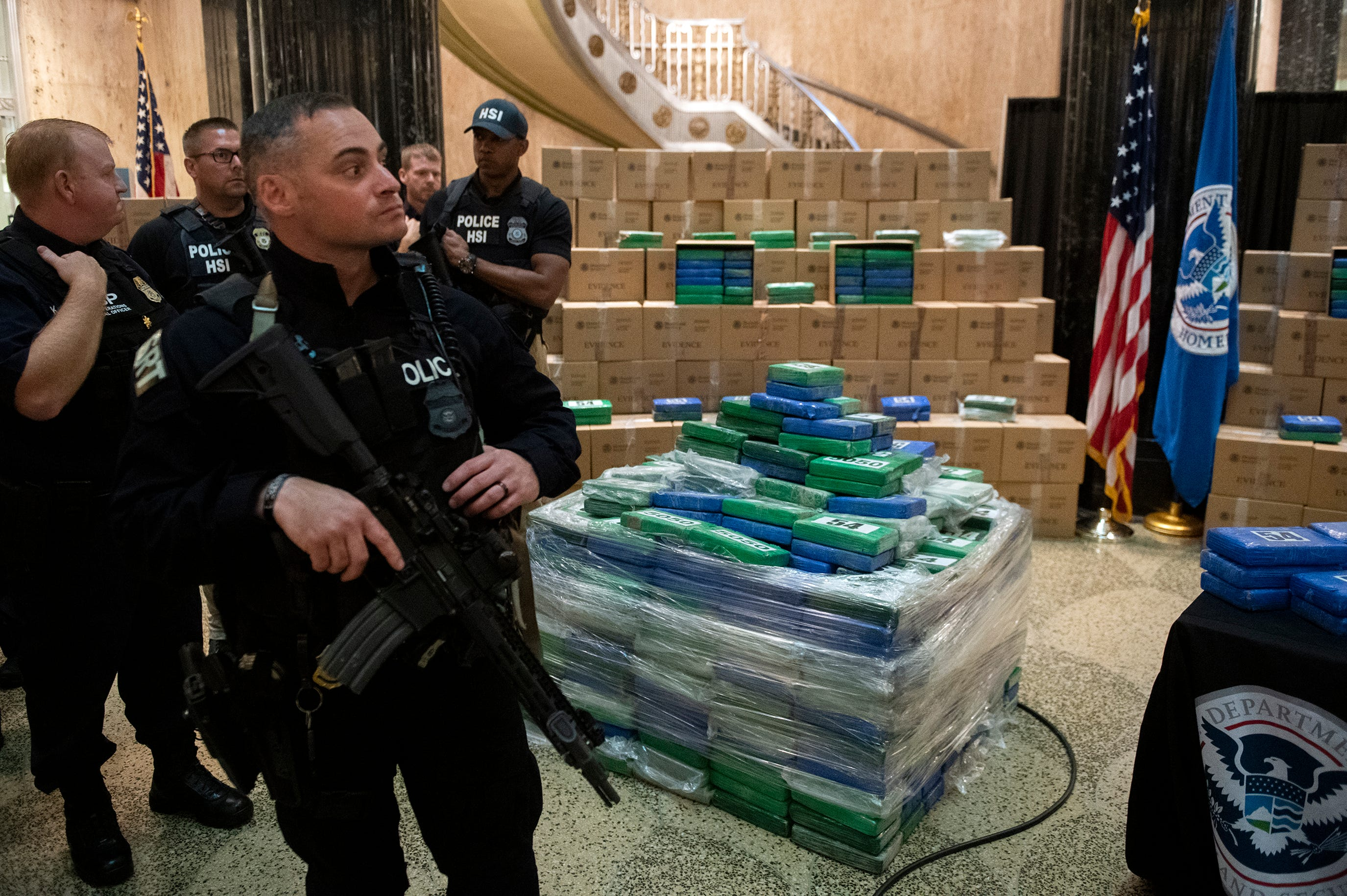 Watch: Philly cocaine seizure now up to 17 5 tons, $1 1 billion, officials  say