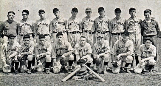 This is the 1934 Withrow High School state championship team.