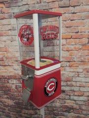 Vintage Cincinnati Reds gumball machine, $299