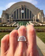 Cincinnati ring, $120