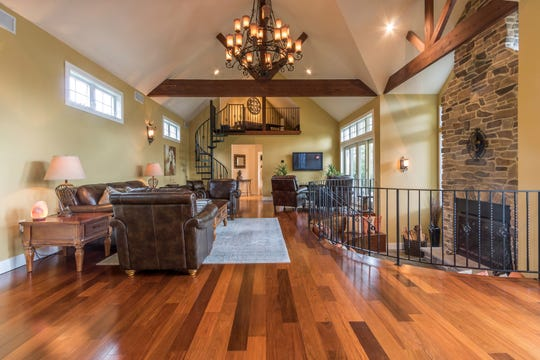 Acustom Colonial home situated on 1.15 acres is for sale for$799,900 in Bridgewater.