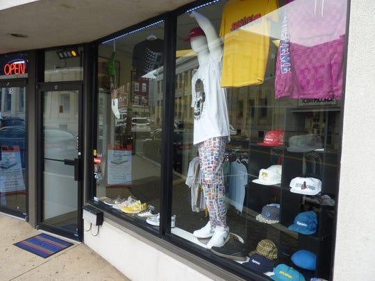 Hub City Skates storefront on South Bridge Street in Somerville.