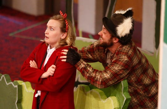 Little Red Riding Hood is the unwitting prey of the Big, Bad Wolf in OPERA Iowa's humorous production. The Des Moines Metro Opera introduced opera to kids during Picnic and Puccini on June 20, 2019 at the Blank Performing Arts Center in Indianola.