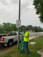 The new speed limit on University Avenue in Windsor Heights is 30 mph.