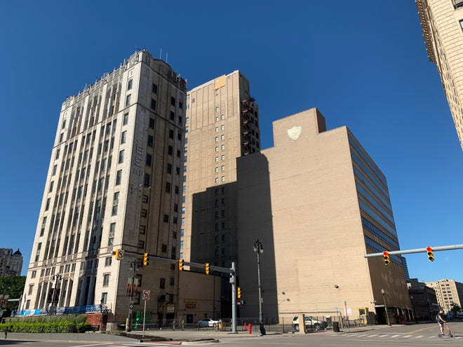 The Michigan Mutual Liberty Annex building in downtown Detroit
