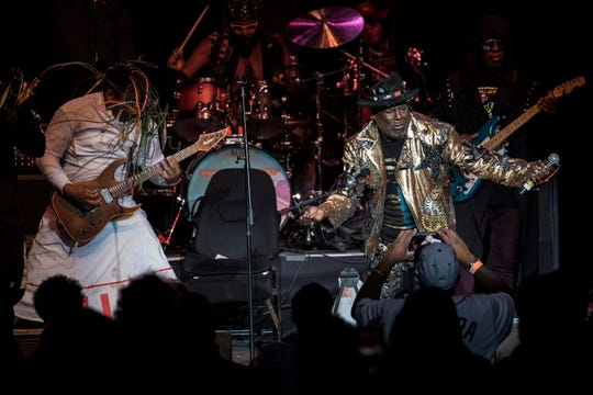 George Clinton and the Parliament Funkadelic in 2019.