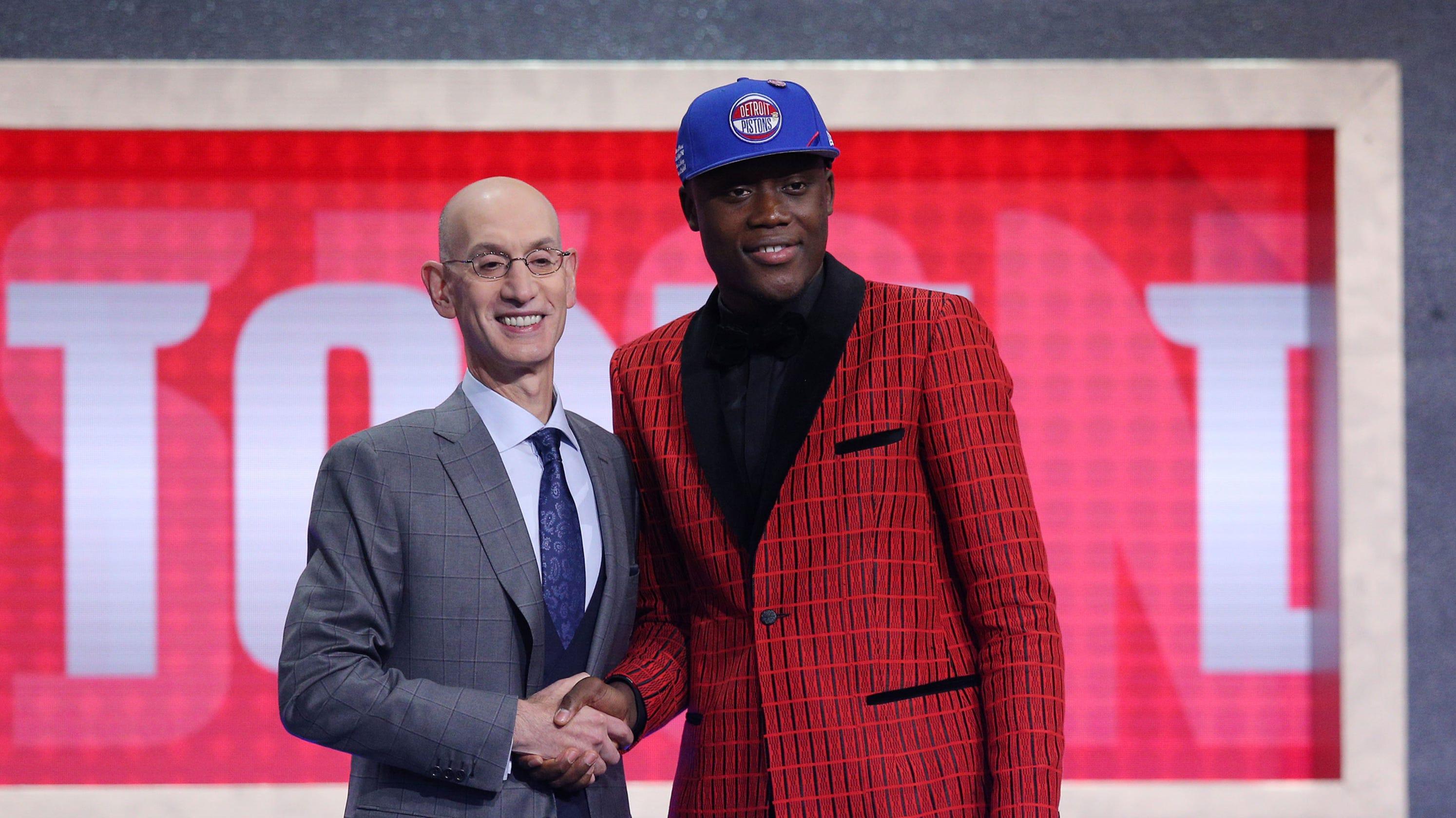 Detroit Pistons pick Sekou Doumbouya at No  15 in NBA draft