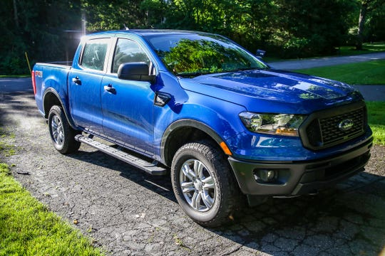The 2019 Ford Ranger Supercrew Cab is photographed in Southfield, Mich. on Friday, June 21, 2019.