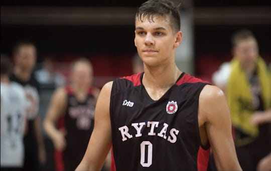 The Pistons had shown interest in Deividas Sirvydis before the draft but he wasn't sure that they'd be the ones to take him. When they executed the trade and selected him 37th, he said he wasn't really surprised — but more relieved because he had been picked.