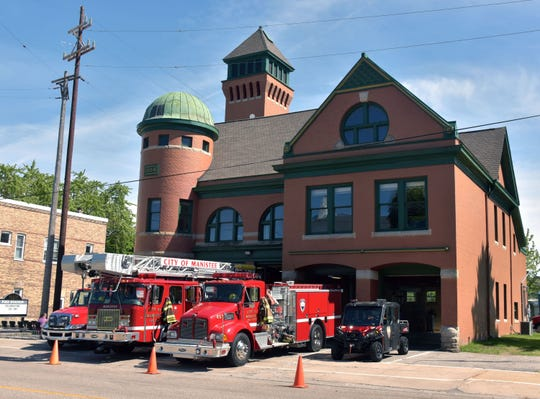 """The Manistee Fire Department was entered into the Guinness World Records as the oldest continuously manned operating fire station."""" Firefighter Fred LaPoint worked two years to create and win the world record designation."""