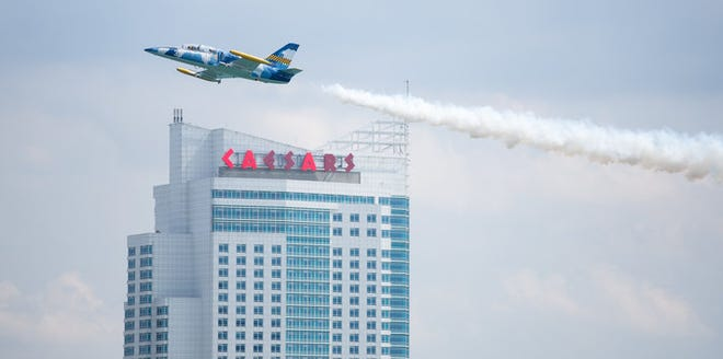 The Tuskeegee Airman Museum air show will tear the air over the Detroit River.