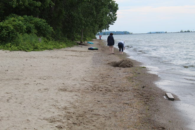 East Harbor State Park has experienced some erosion and loss of sand at East Harbor State Park beach, due to record high water levels in Lake Erie. Mike Monnett, park manager at East Harbor State Park, said much of the sand is still there, it is just under water as the lake level is up to the beach's armor stone barrier and treeline along the shore, which means much of the beach is currently inaccessible.