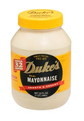 Duke's mayonnaise originated in Greenville in 1917