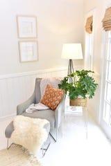 The master bedroom inside Eileen Beaver's home.