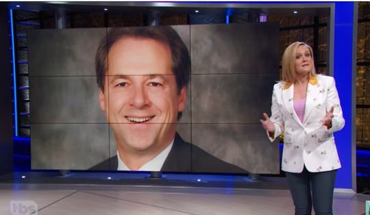 "Samantha Bee talks about Gov. Steve Bullock on the TBS show ""Full Frontal."""