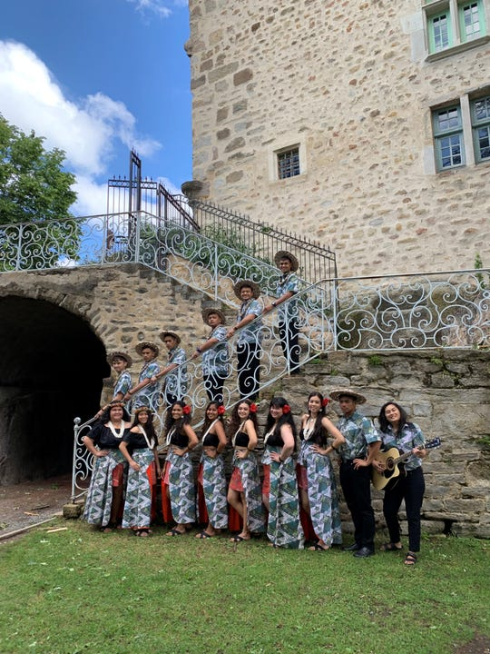 Inetnon Gefpå'go Cultural Arts Program tours Europe participating with groups from Belgium, Slovakia, Kazakhstan, Indonesia, Peru, Brazil, U.S, and Chili.