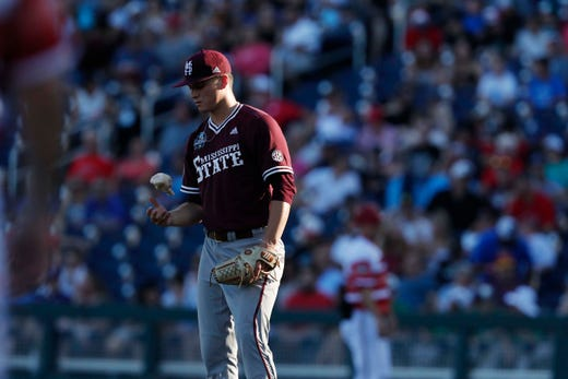 College World Series Mississippi State Baseball Eliminated By