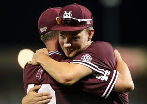 Mississippi State senior pitcher Peyton Plumlee's college career came to an end Thursday. He said he wouldn't trade the last three years for anything in the world.