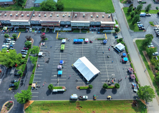 Plenty of room and parking make the West End Center, 155 West End Avenue, an ideal location for MusicFest.