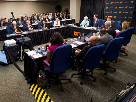 The University of Tennessee Board of Trustees met at the UT Conference Center in downtown Knoxville on Friday, June 21, 2019.