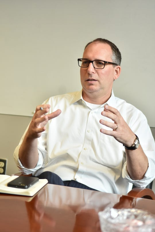 Mike Odom, president and CEO of the Knoxville Chamber of Commerce, on June 7, 2019.