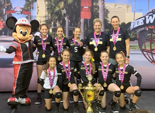 The Boiler Juniors 11U Elite Gold team won the AAU national title at Disney's Wide World of Sports on Thursday.