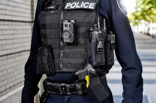 Axon's next generation of body cams allow video to be live-streamed.