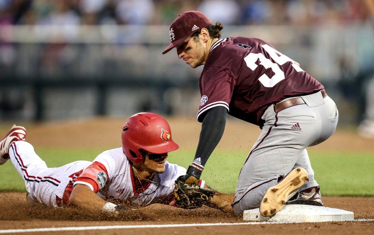 Louisville baseball vs  Vanderbilt: College World Series