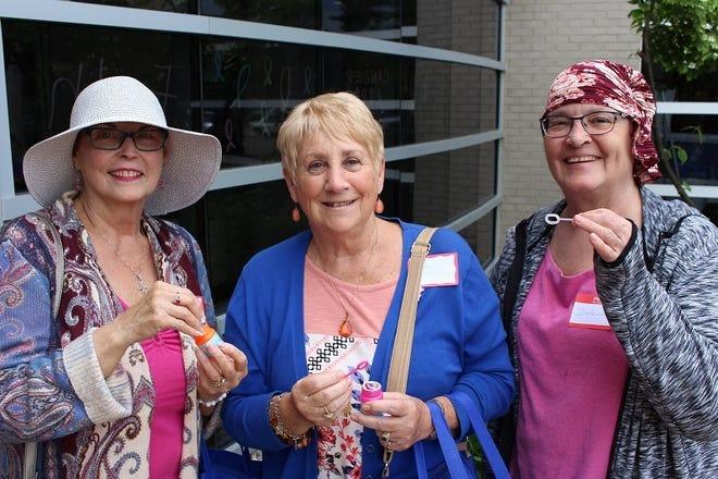 Survivors celebrate at the 4th annual event.