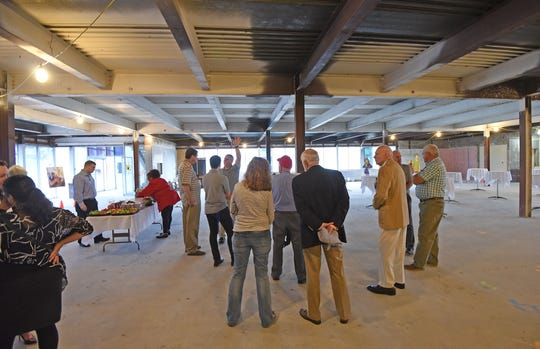 Visitors got a sneak peek of the Imagination District and the new home of the Little Buckeye Children's Museum on Thursday during a Richland Chamber Business after-hours.