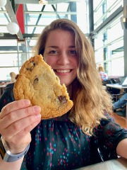 Tess Wynn is on a mission to eat every chocolate chip cookie.