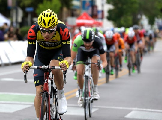 Racers competed in the East Tosa Gran Prix, the final race of the Tour of America's Dairyland cycling series, June 28, 2015. This year, the Tosa event is on June 30.