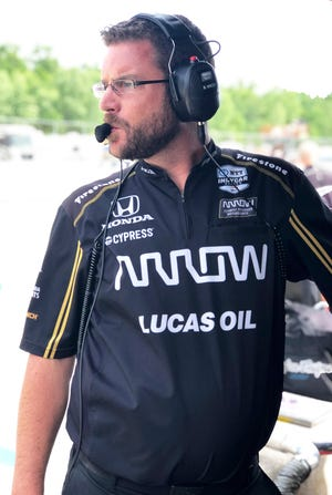Schmidt Peterson Motorsports competition director Billy Vincent is a native of Kenosha.