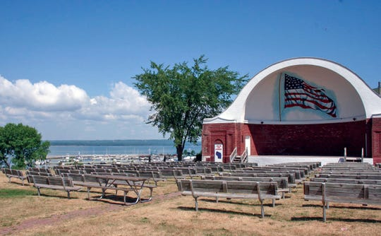 Ashland's Bandshell plays host to a variety of events in summer.