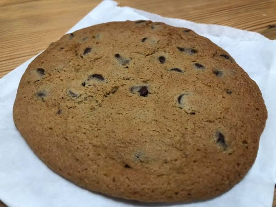 The chocolate chip cookie at Confectionately Yours.