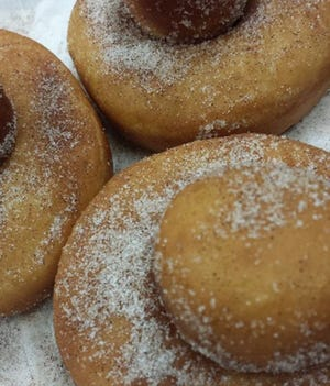 Cinnamon-sugar brioche doughnuts are on the menu at Mistral, 2473 S. Kinnickinnic Ave. in Bay View, which starts brunch June 22.
