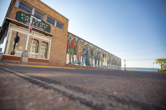 Downtown Ashland is home to 18 murals.