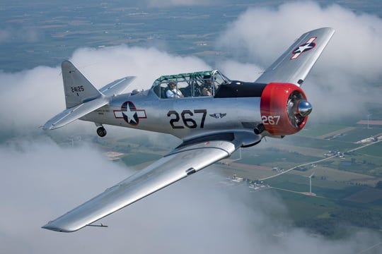 The P-51 Mustang fighter will be at the Wings of Freedom Tour Friday through Sunday.
