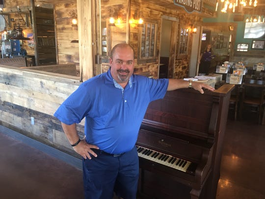 Toot's West owner Wade Hays stands in the dining room of the restaurant, which will open July 5, 2019, at 4123 Franklin Road in Murfreesboro.