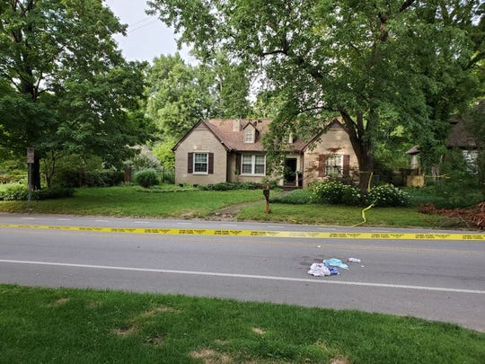 Donald and Leigh Ann Zirkle were at their Cherokee Park home Friday when a man walked up to them on the back porch and asked for directions, Metro Nashville Police have said. The man then stabbed them with a sharp instrument. Donald Zirkle died; his wife is in the hospital.