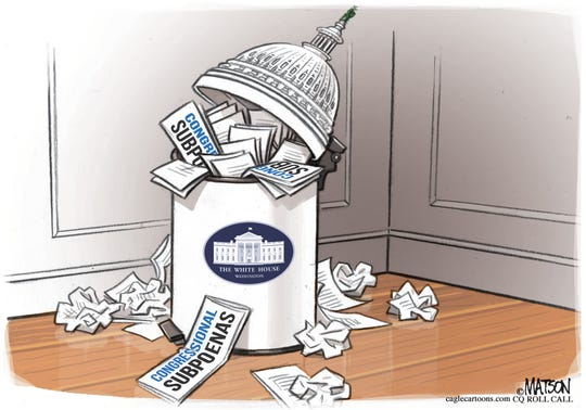 Subpoenas trashed.