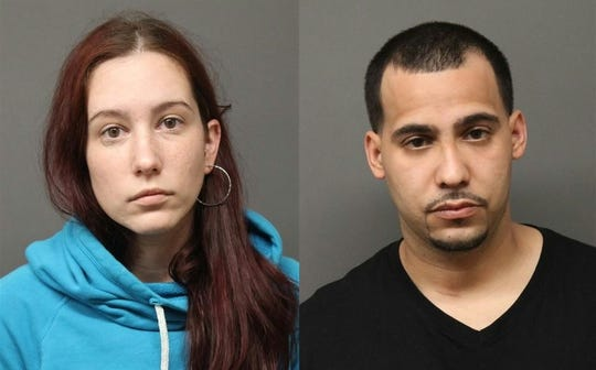 Stephanie Picinich, 29 and Jose Ulloa, 30, both of Fairview, are accused of running a drug lab out of Ulloa's home.
