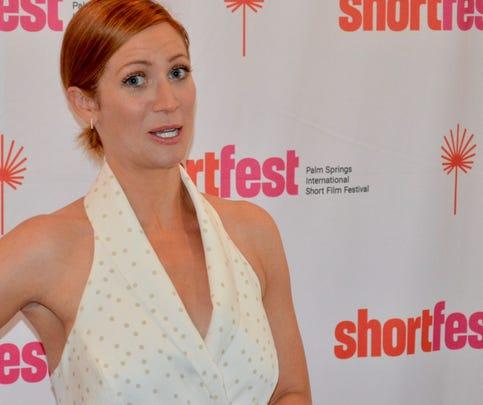 "Brittany Snow attended Palm Springs International ShortFest to promote her film ""Milkshake"" on Thursday, June 20, 2019. She talks about it."