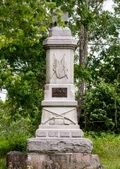 The 93rd Pennsylvania Volunteer Infantry Regiment monument.