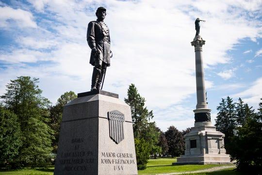 Monument to Major General John F. Reynolds.