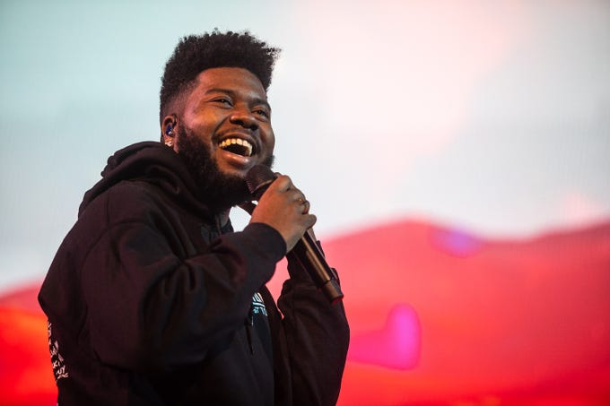 Singer Khalid kicked off his Free Spirit Tour at the Gila River Arena in Glendale.